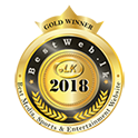 Bestweb 2018 media gold winner