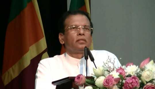 National Prisoner's Day launched under auspices of President Sirisena